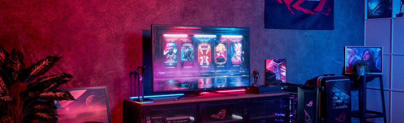 Asus ROG Swift PG43UQ and ROG Strix XG27UQ DSC gaming monitors specifications