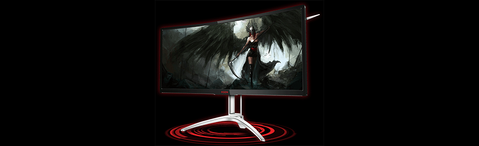 AOC announces the curved AGON AG352UCG6 with a WQHD 35-inch screen and 120Hz refresh rate