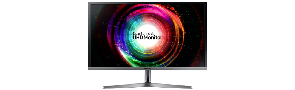 Samsung announces a new 4K UHD quantum-dot monitor - the U28H750