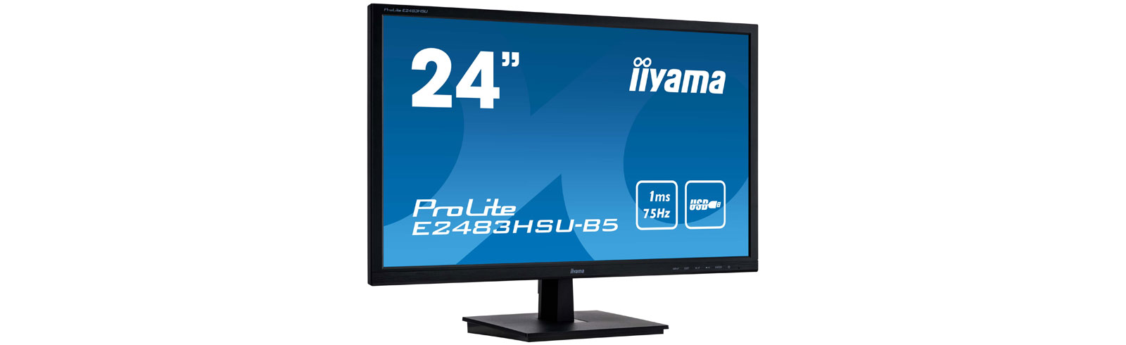 "iiyama ProLite E2483HSU-B5 and B2483HSU-B5 go official with 24"" TN 75Hz displays"