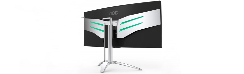 AOC unveiled the curved AGON AG352QCX gaming monitor with a 35-inch display