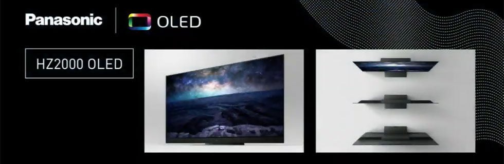 The Panasonic HZ2000 flagship OLED TV for 2020 is unveiled