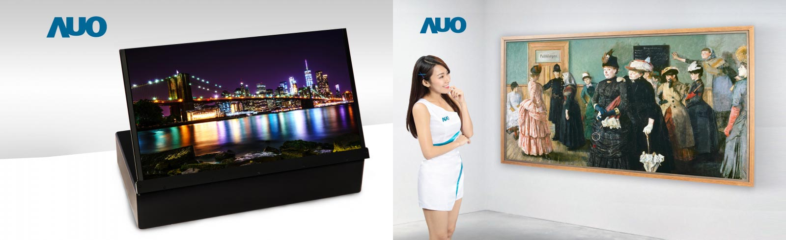AUO will unveil a 17.3-inch 4K UHD ink-jet printing OLED technology