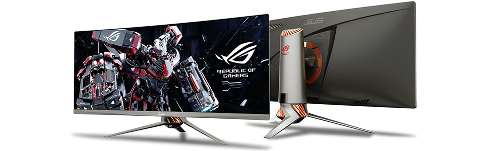 Asus presented the ultra-wide ROG PG348Q gaming monitor