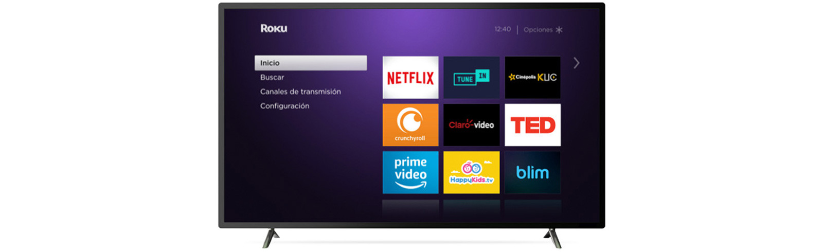 The Atvio Roku TV lineup is an exclusive Walmart and Roku offering for Mexico