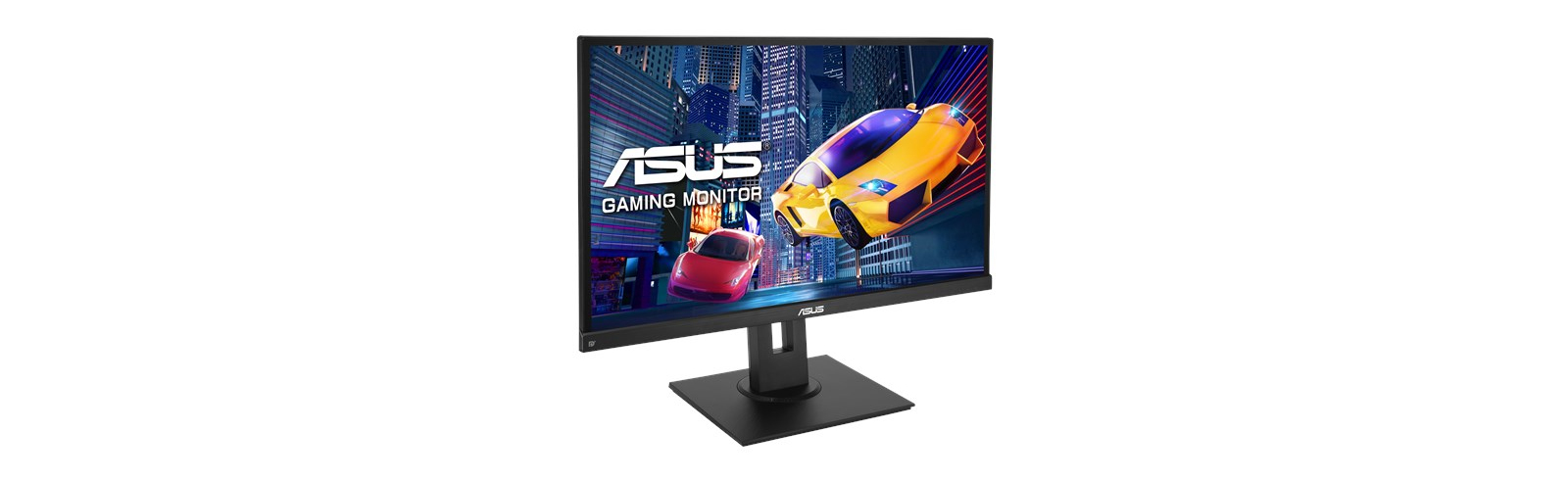 Asus VP279QGL is a 27-inch gaming monitor with frameless ergonomic design