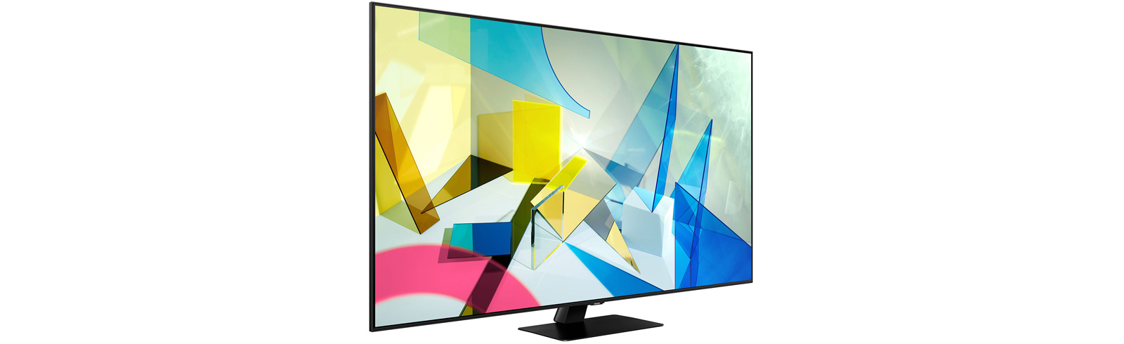 """Samsung QN50Q80T is a 50"""" model from the Q80T QLED TV series that was just released in the USA"""