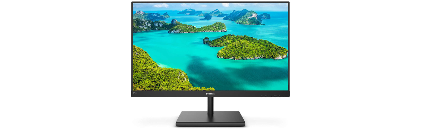 Philips 275E1S - a new 27-inch WQHD monitor with 75Hz refresh rate