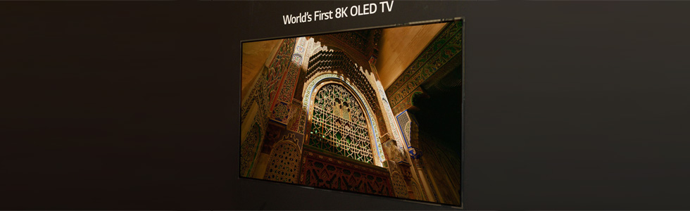 LG is the first to announce an 8K OLED TV, showcases it at the IFA 2018 in Berlin