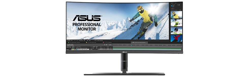 Asus created the curved ProArt PA34V monitor for creative professionals