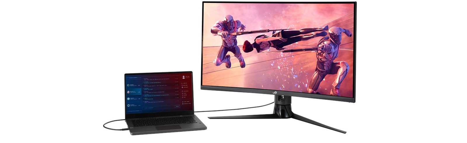 Asus ROG Strix XG32VC with KVM switch is launched
