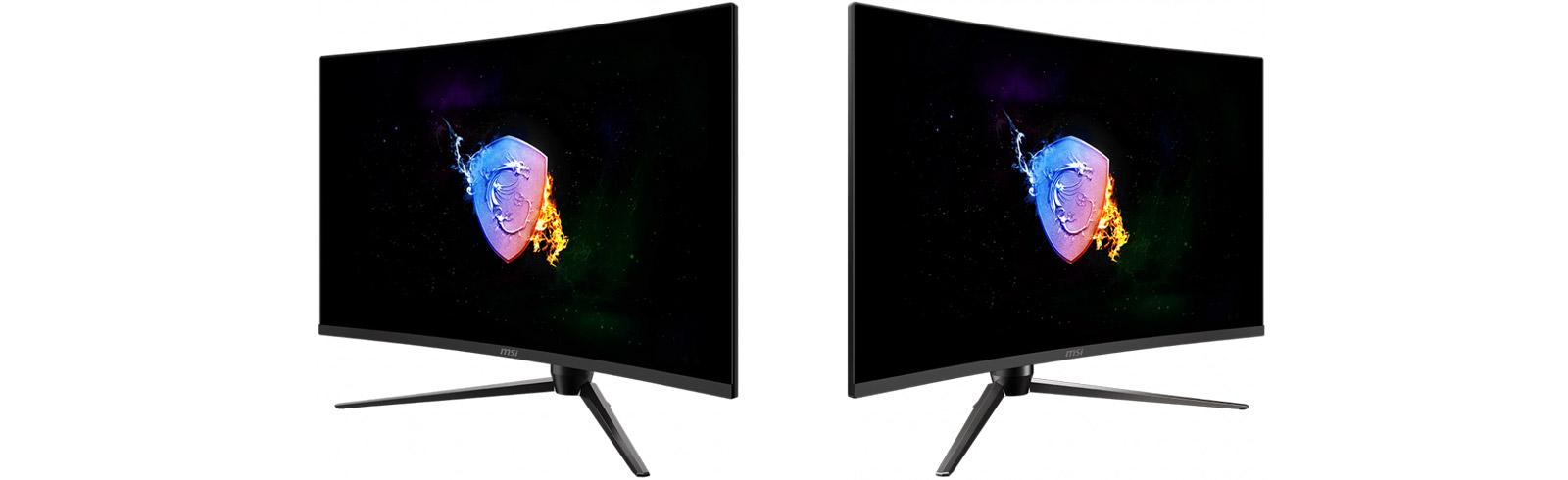 MSI Optix AG321CQR and Optix AG321CR go official with 165Hz VA displays