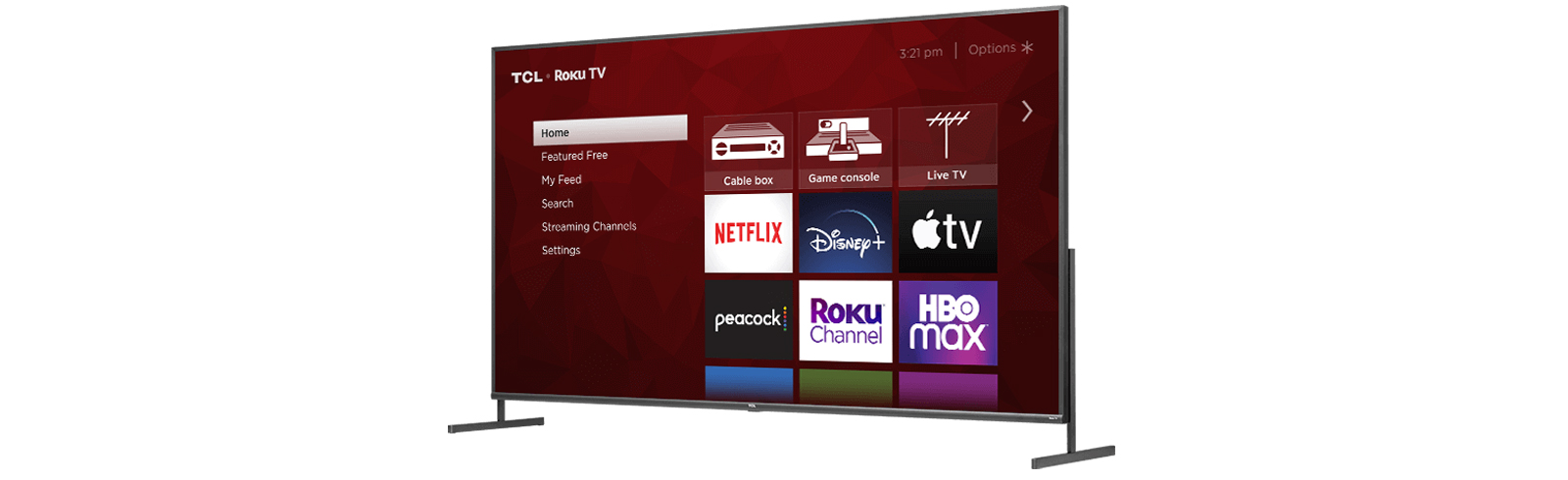 2021 TCL S435 4K Roku TV 4-series for the USA - specifications and prices