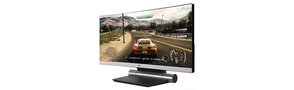 ViewSonic showcases a curved monitor for gamers
