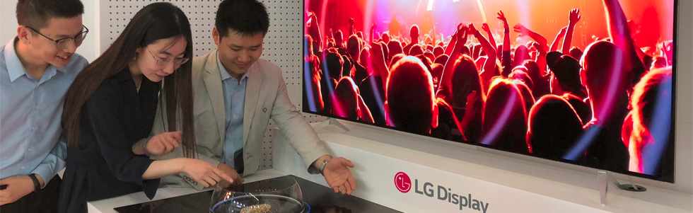 Large-size OLED panels sales double for LG Display in the first half of 2018