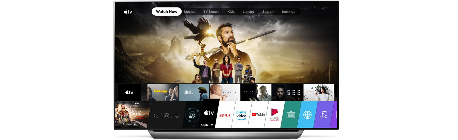 2019 and 2018 LG TVs get the Apple TV app Apple TV+ after an OTA update