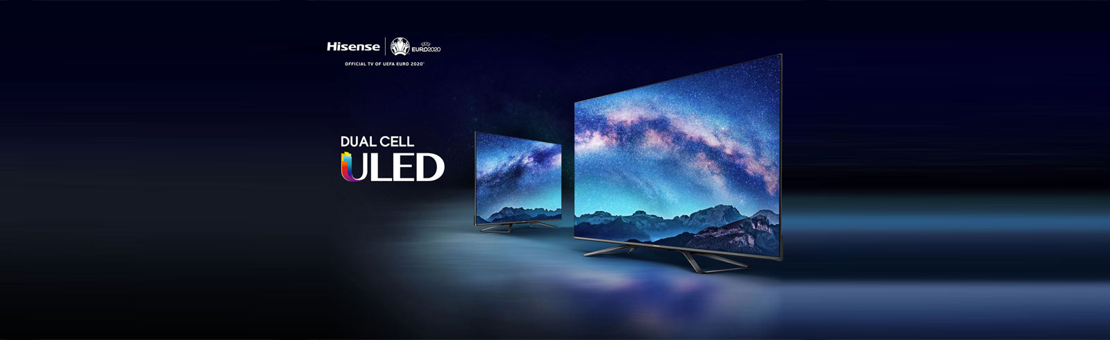 The Dual Cell 4K Hisense U9X (H65U9X) is unveiled at CES 2020