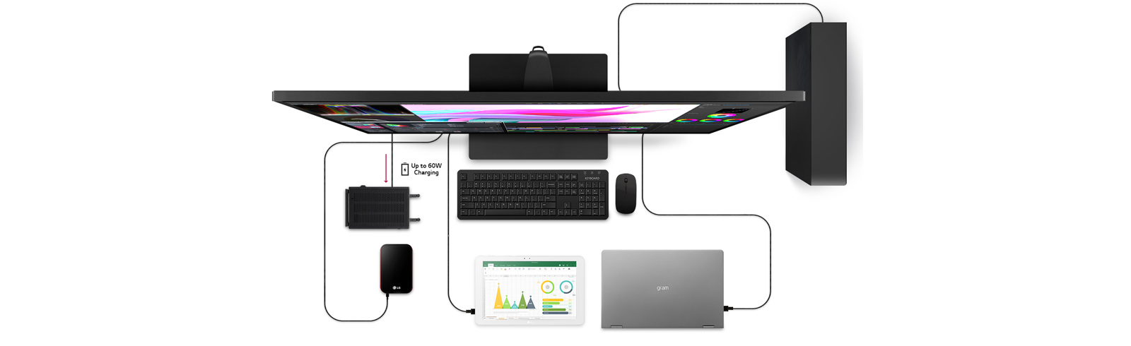 LG launches the UN700 series of 4K UHD desktop monitors with the LG 43UN700