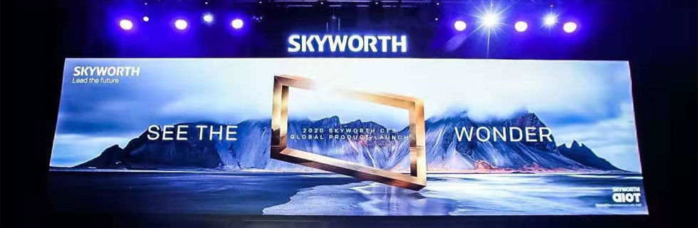 Skyworth unveils the Skyworth Q91 8K TV series and the W81 OLED TV that's wallpaper-thin