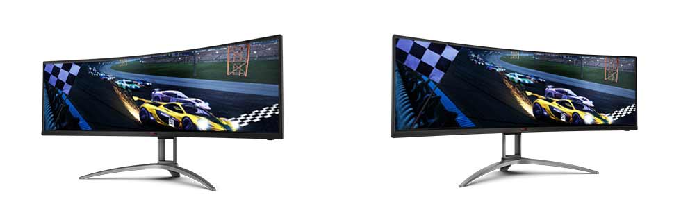 The AOC AG493UCX2 goes official in China, ups the refresh rate to 165Hz