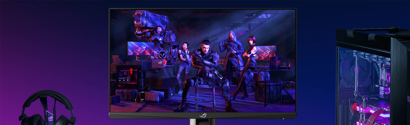 The Asus ROG Swift PG259QNR is the official gaming monitor of the International 10 tournament from DOTA 2