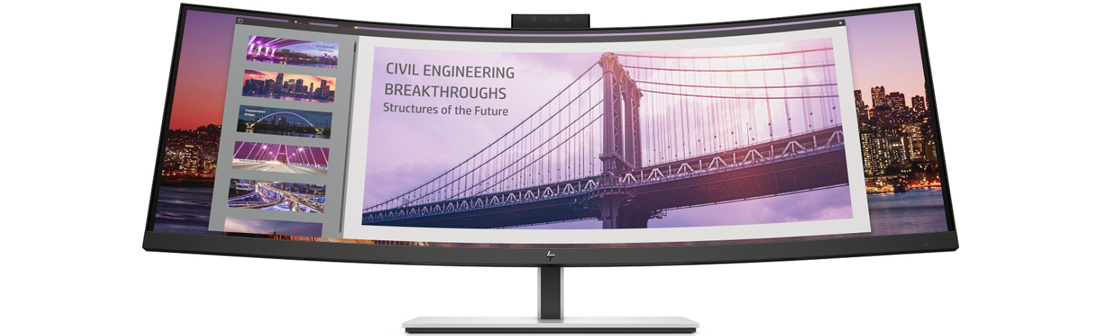 HP announces a duo of curved desktop monitors for everyday work - the HP S430c and the HP E344c