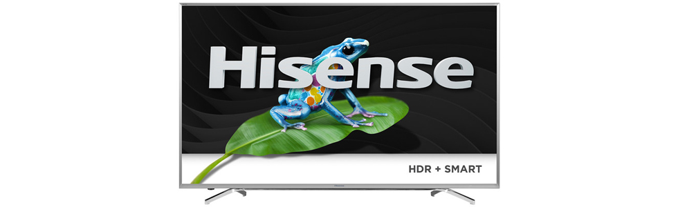 Hisense showcases a number of new TVs, including a quantum-dot series at CES 2017
