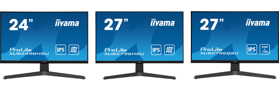 iiyama launches a number of G-Master and ProLite monitors