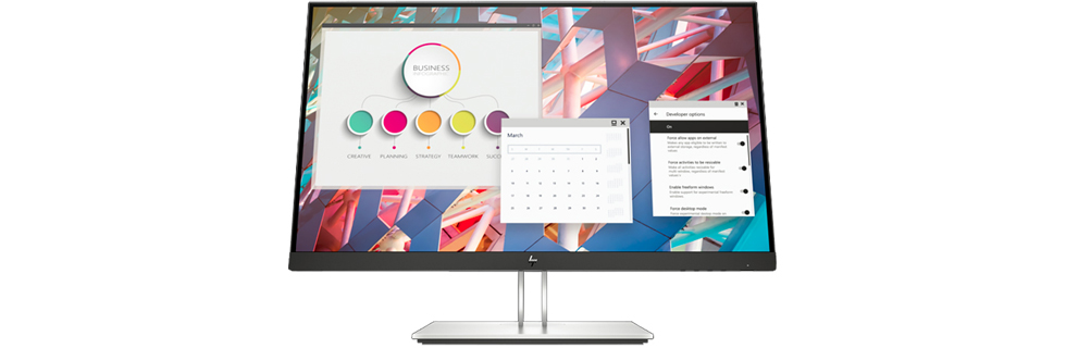 HP launches a number of G4 monitors from its E series