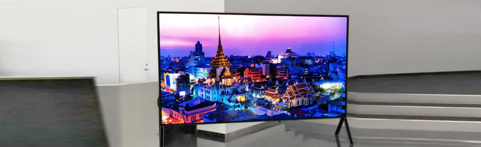 Sharp will present the biggest LCD TV in the world with 8K resolution and 120-inch diagonal size