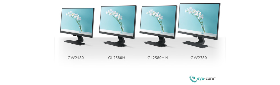 BenQ has presented a new series of desktop monitors - the G80, with minimalist style and progressive eye-care