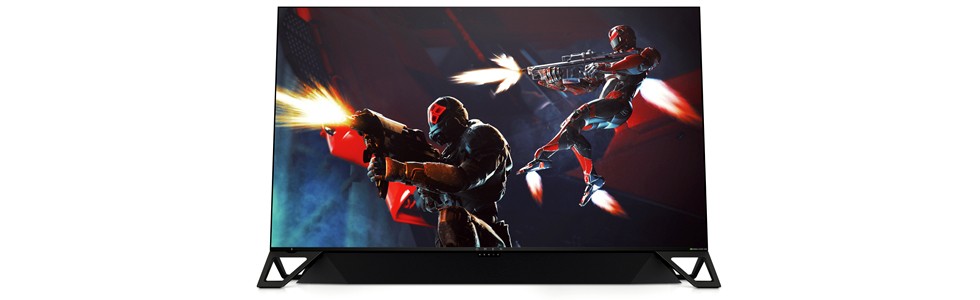 HP unveils the 64.5-inch Omen X Emperium gaming monitor with sound bar