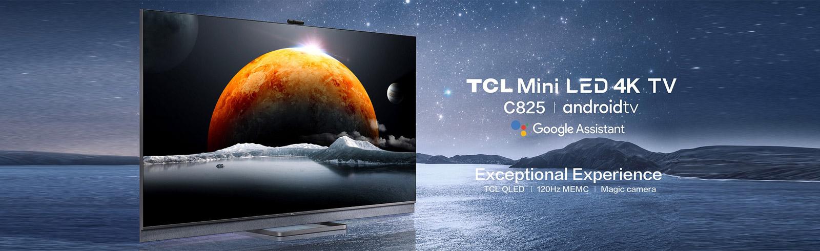 TCL C825 Mini-LED 4K TV goes official