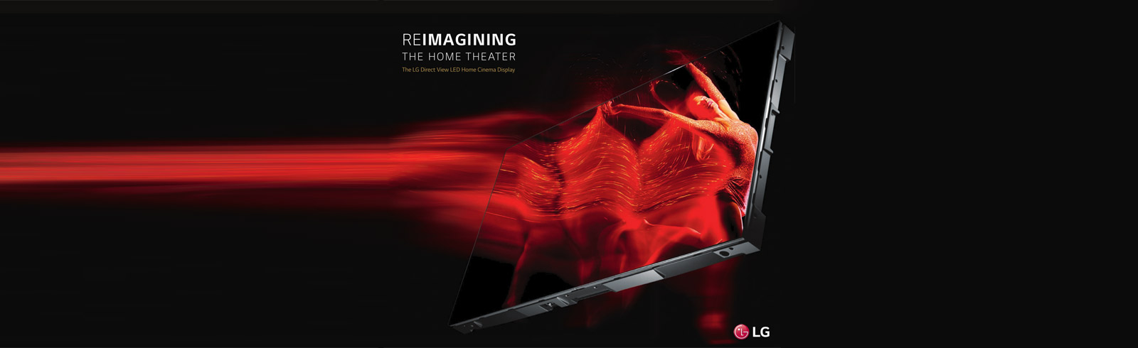 LG launches the first Direct View LED (DVLED) displays for high-end home cinema experience