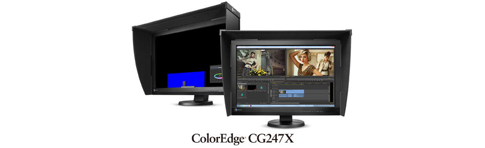 "Eizo presented the 24.1"" ColorEdge CG247X monitor for post production editing and video creation"